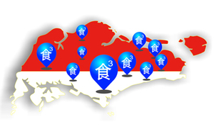 Store distribution map 门店分布图